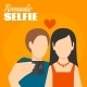 Romantic Selfie Poster - GraphicRiver Item for Sale