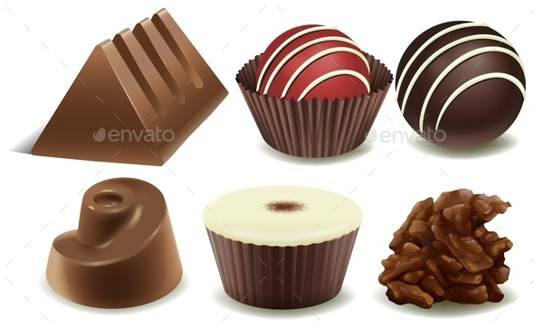 GraphicRiver Chocolates 10925988
