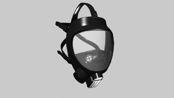 3DOcean Gas mask 10916074