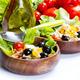 spelt salad on white background - PhotoDune Item for Sale