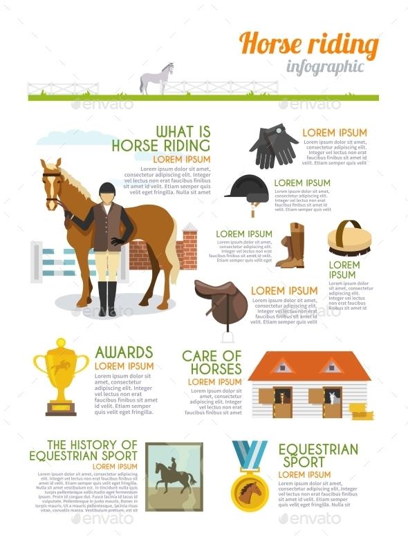 GraphicRiver Jockey Infographics Set 10927492