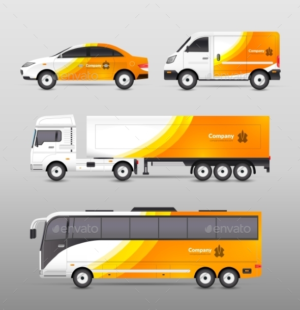 GraphicRiver Transport Advertisement Design 10927661