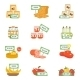 Supermarket Icons Set - GraphicRiver Item for Sale