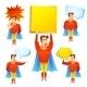 Superhero Cartoon  - GraphicRiver Item for Sale