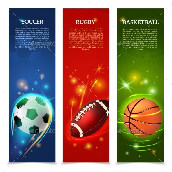 GraphicRiver Soccer Banners Set 10927702
