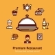 Restaurant Concept Illustration - GraphicRiver Item for Sale