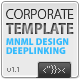 Corporate XML Template v.1.1 - ActiveDen Item for Sale