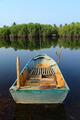 Thai boat in the lake - PhotoDune Item for Sale