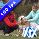 Young Couple And A Dog - VideoHive Item for Sale