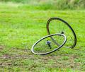 Pair of Bicycle Wheels - PhotoDune Item for Sale