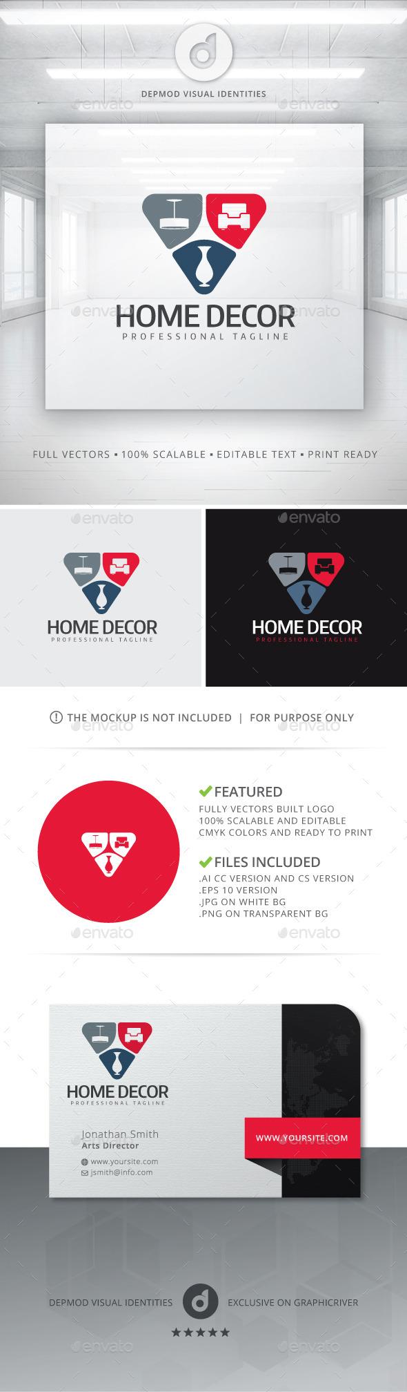 GraphicRiver Home Decor Logo 10928862