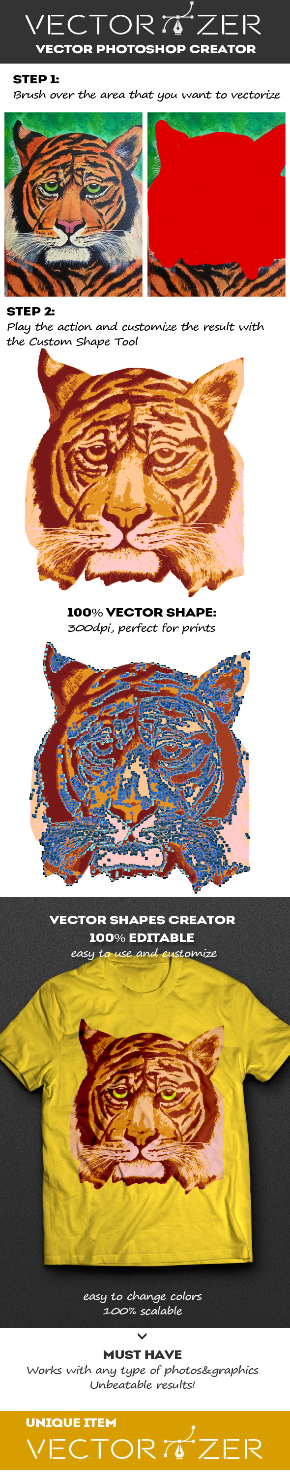 GraphicRiver Vectorizer Vector Photoshop Creator 10928878