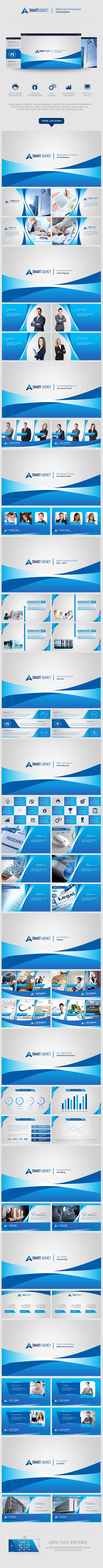 GraphicRiver SMART AGENCY Powerpoint Presentations 10928933