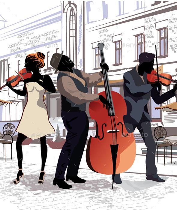 GraphicRiver Musicians 10928999