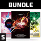 Party Flyer Bundle Vol.6 - GraphicRiver Item for Sale