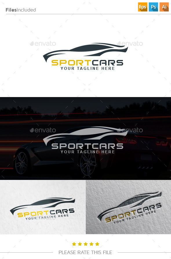 GraphicRiver Car Logo 10929287