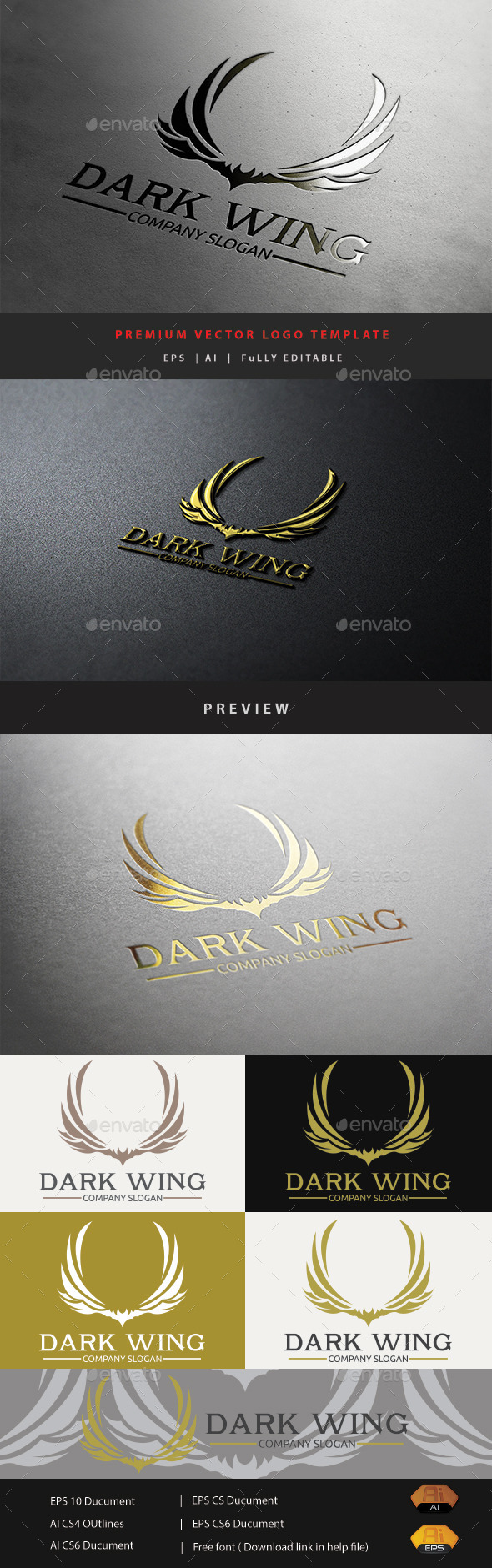 GraphicRiver Dark Wing 10929488
