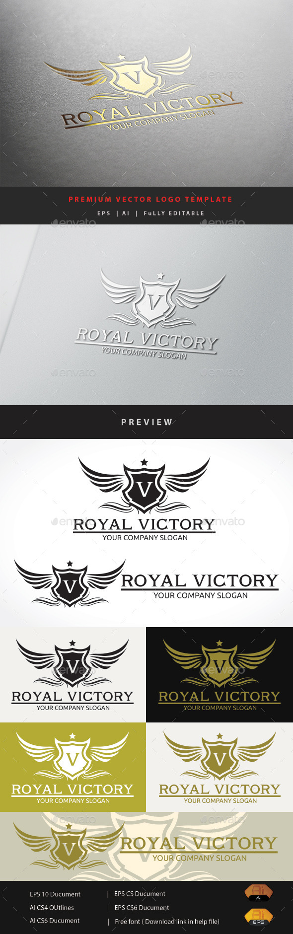 GraphicRiver Royal Victory 10929494