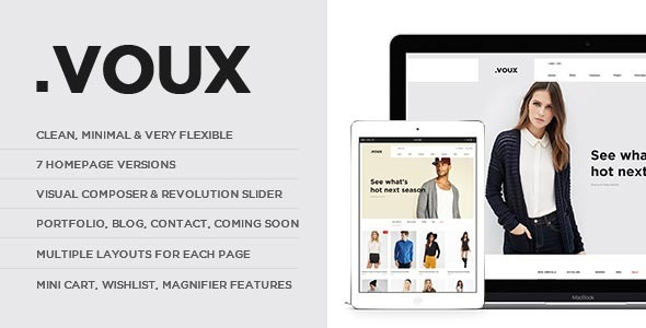 ThemeForest Voux WooCommerce Shopping Theme 10902723