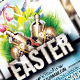 Easter Celebration Party Flyer Template - GraphicRiver Item for Sale