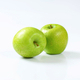 Two fresh ripe green apples - PhotoDune Item for Sale