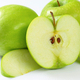 Whole and cut green apples - PhotoDune Item for Sale