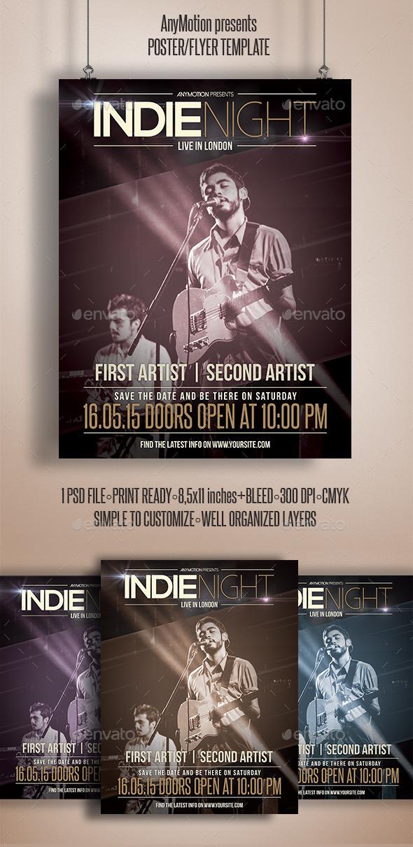 GraphicRiver Indie Week Flyer 10929880