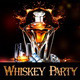 Whiskey Party Flyer - GraphicRiver Item for Sale