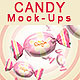 Candy and Toffee Mock-up - GraphicRiver Item for Sale