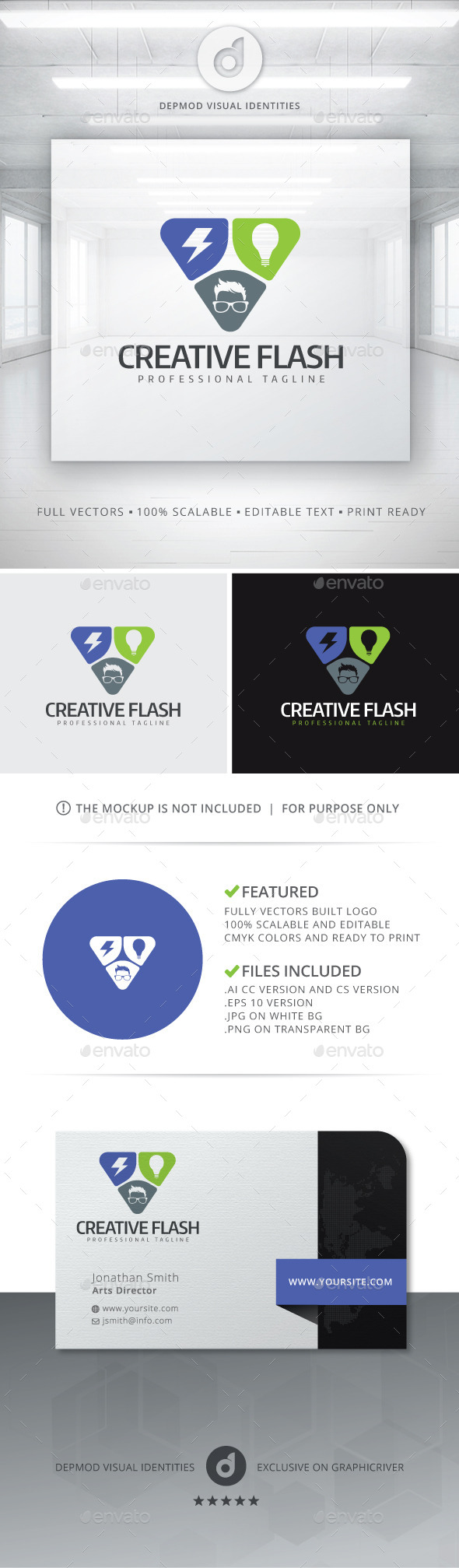 GraphicRiver Creative Flash Logo 10930020