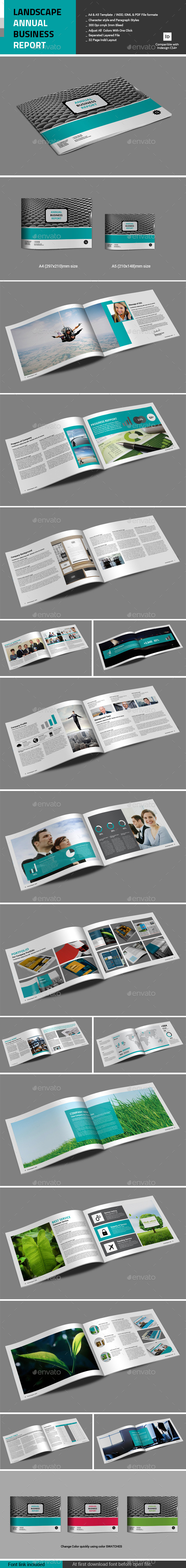 GraphicRiver Landscape Annual Business Report 10930022