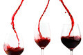 Red wine poured in glass - PhotoDune Item for Sale