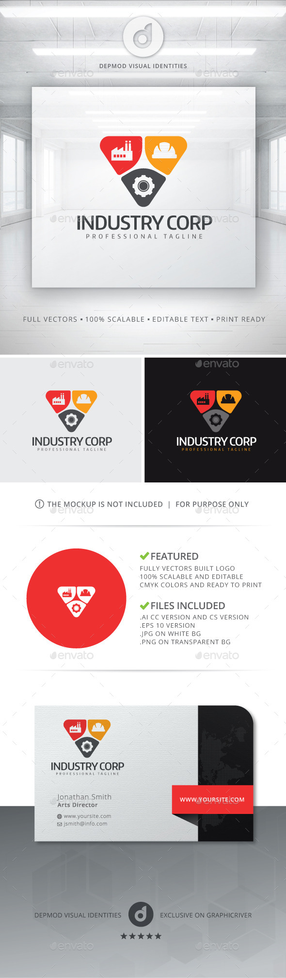 GraphicRiver Industry Corp Logo 10930769