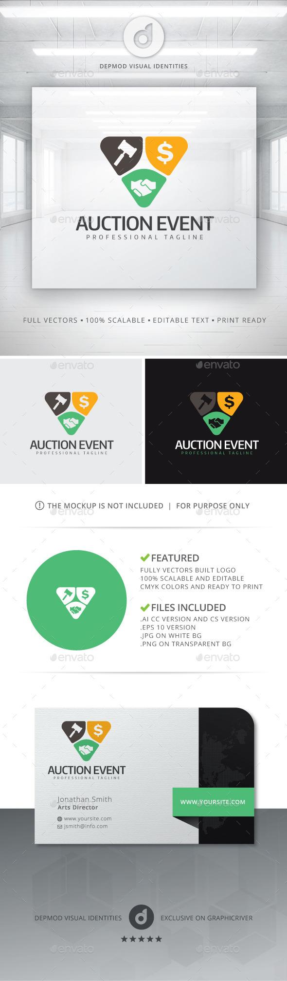 GraphicRiver Auction Event Logo 10930783