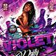 Flyer Violet Party Konnekt - GraphicRiver Item for Sale