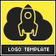 Rocket Cloud Logo Template v2 - GraphicRiver Item for Sale