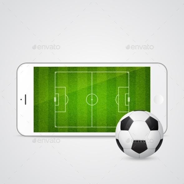 GraphicRiver Smartphone Soccer 10931186