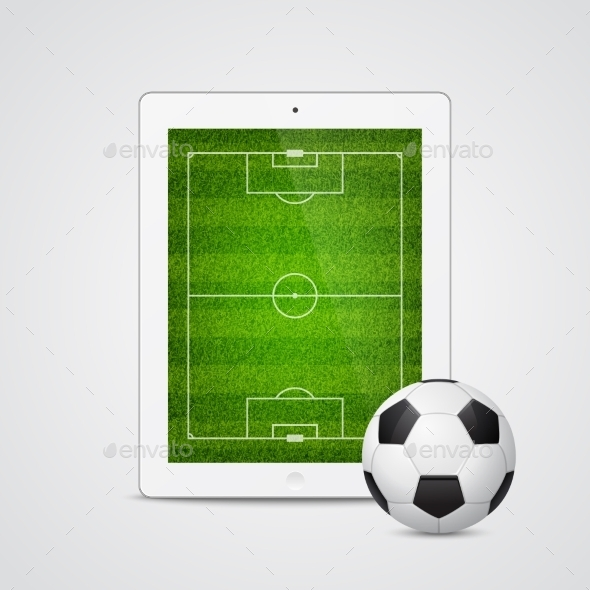 GraphicRiver Tablet Soccer 10931450