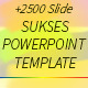 Sukses - Multipurpose Powerpoint Template - GraphicRiver Item for Sale