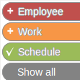 Employee Work Schedule / Multi-calendar