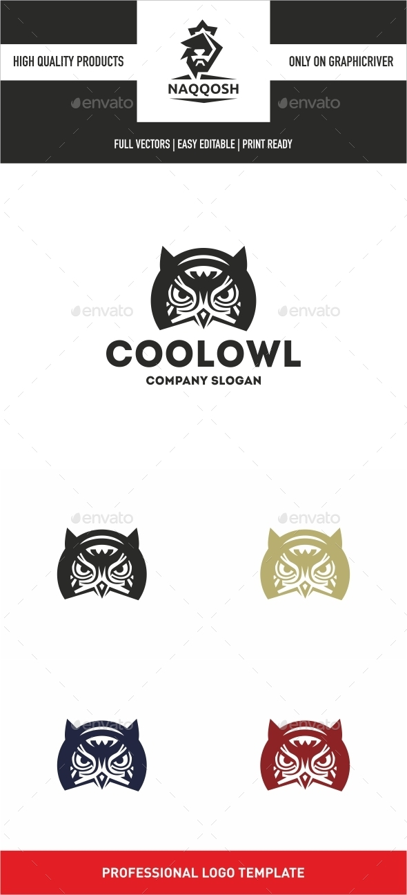 GraphicRiver Cool Owl 10931558