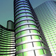 Modern office building made from glass and steel - PhotoDune Item for Sale
