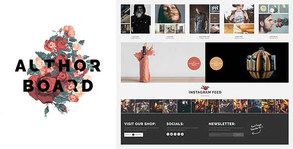 ThemeForest Author Board Responsive WordPress Theme 10873916
