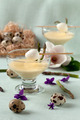 Cups With Mustard Mayonnaise And Quail Eggs - PhotoDune Item for Sale