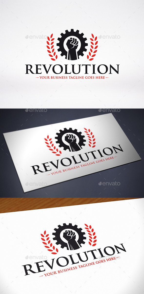 GraphicRiver Revolution Logo Template 10932061