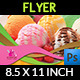 Ice Cream Flyer Template Vol.3 - GraphicRiver Item for Sale
