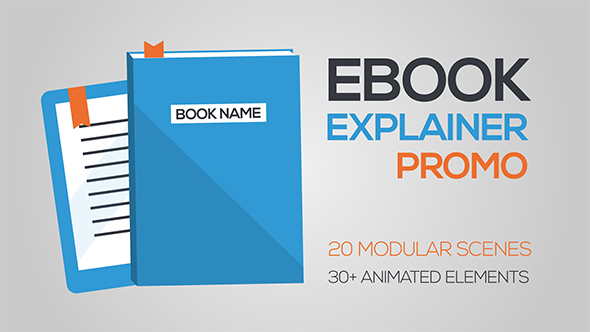 eBook Explainer Promo Video