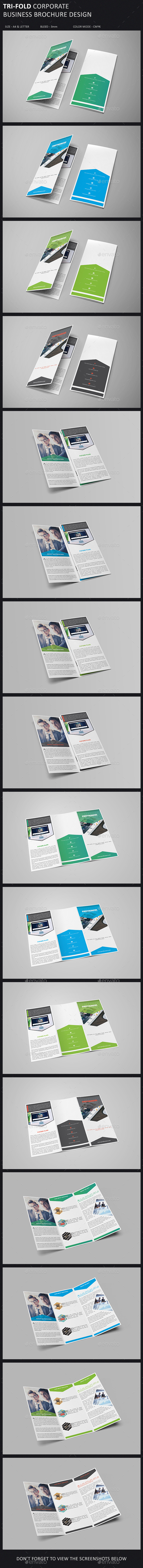GraphicRiver Tri-Fold Brochure Template 10932132