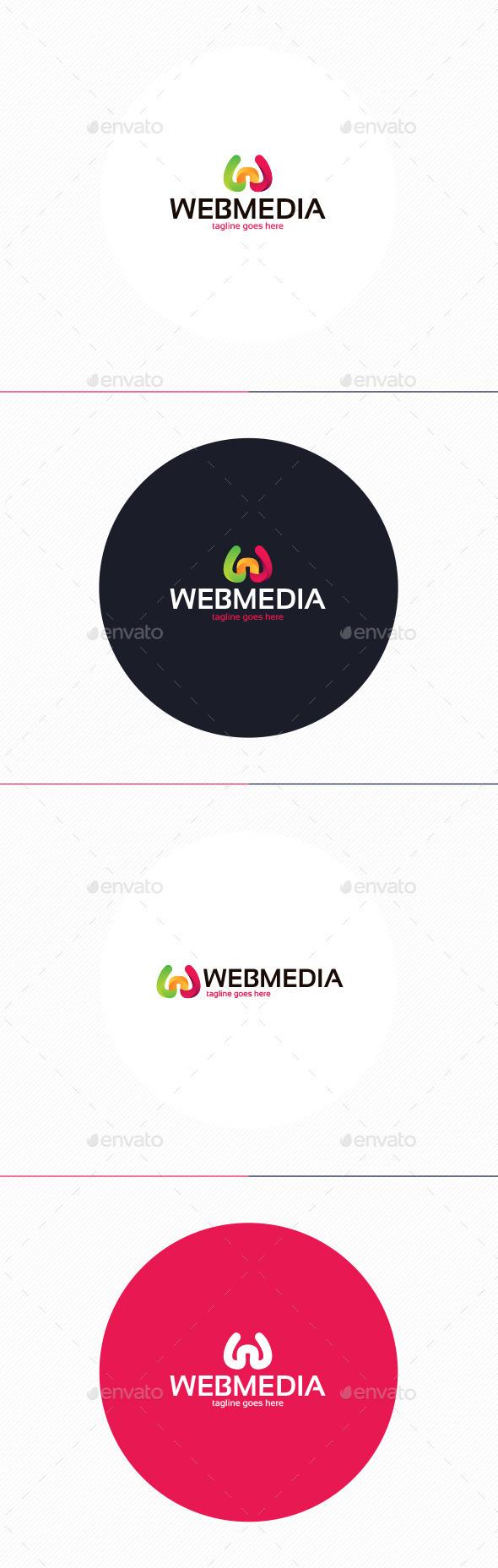 GraphicRiver Web Media Logo Letter W 10932267