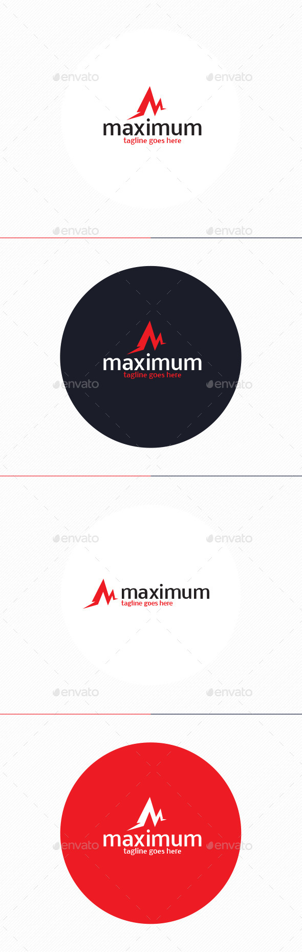 GraphicRiver Maximum Logo Letter M 10932292